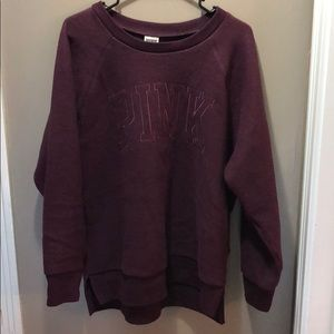 Pink by Victoria's Secret purple sweater!